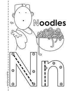 Alphabet book with dot-to-dot counting component.  Mary Straw Activity Coloring Pages. Unique, educational printables for children. Just download and print.