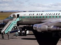 New Zealand's international airline, Tasman Empire Airways Limited (TEAL), was renamed Air New Zealand Limited. International Airlines, Air New Zealand, Travel Memories, Transportation, Aircraft, Teal, Vehicles, Vintage, Travel Souvenirs