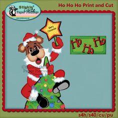Stinkin Cute  - Ho Ho Ho Trial Print and Cut, $0.00 (http://www.stinkincute.net/ho-ho-ho-trial-print-and-cut/)