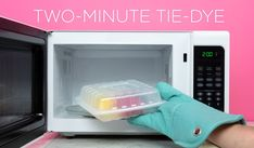 Use Tulip Two-Minute Tie Dye to speed up the dye set process from 8 hours to 2 minutes with the same vibrant results! This patent-pending process works with any Tulip One-Step Dye for a faster way to tie dye. Tie Die Shirts, Diy Tie Dye Shirts, T Shirts, Diy Tie Dye Designs, Tie Dye Instructions, Tie Dye Folding Techniques, Tulip Tie Dye, Ty Dye, Tie Dye Party