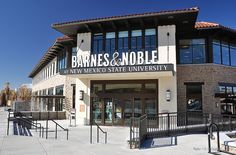 The New NMSU Campus Bookstore - Las Cruces by G. OGraffer, via Flickr. New Mexico State University got an all-new campus bookstore in 2011. But that is NOT the real news about this building.  Inside, it has an ESCALATOR! Yes, an escalator. It is the FIRST and ONLY escalator in all of southern New Mexico! It took several centuries, but it finally happened.