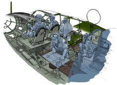 "Mitsubishi G4M ""Betty"" ~ https://de.pinterest.com/henry5209/cutaway-aviones-warbirds-etc/"