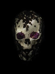 Veiled Skull with Flowers, from 'A Beautiful Announcement of Death' by Alexander James