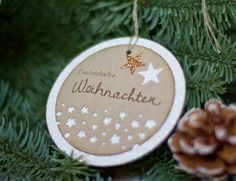 conibaer: glimmer christmas-ornament  #stampinup