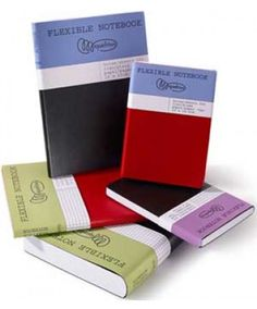 Miquel Ruis Notebook Flexible Black Medium Squares 300