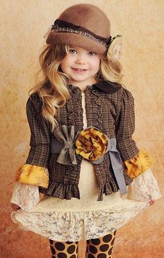 Persnickety Vintage outfit - every purchase you make, a dress is donated to a child in need. Pretty awesome!