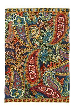 paisley reef rug