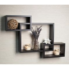The best top 20 small shelves for wall(small wall shelves ) for your home/office interior. Photos and details of small floating wall shelves to buy online. Reclaimed Wood Floating Shelves, Wooden Wall Shelves, Box Shelves, Floating Wall Shelves, Wall Shelves Design, Wall Mounted Shelves, Hanging Shelves, Shelf Display, Wood Wall