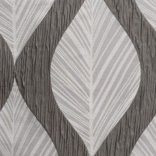 Silver  Bold Leaves Polyester