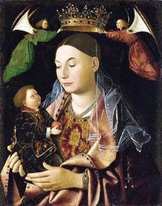 ANTONELLO da Messina Madonna with Child