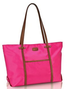 @Jess Liu - this is one of the bags i was looking at for you - Monogrammed Union Square Italian Nylon Tote