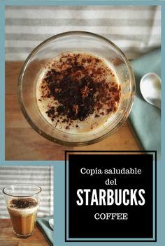 Copia saludable del café vainilla latte de Starbucks sin aditivos, sin azúcar y sin derivados lácteos.  Starbucks vainilla latte coffee but healthy! Sugar free, additives-free and dairy-free!