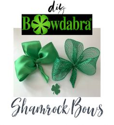 hair bows Need something green for St. Make this easy shamrock perfect for multiple uses as a package decoration, hair bow and more! Crafts For Seniors, Crafts For Teens, Crafts To Sell, Bow Making Tutorials, Craft Tutorials, Making Hair Bows, Diy Hair Bows, How To Make Hair, How To Make Bows