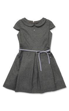 Heathered Gathered Dress by Marie-Chantal for Preorder on Moda Operandi