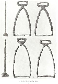 10th century Birka, Sweden. I am not a horseman, but stirrups?