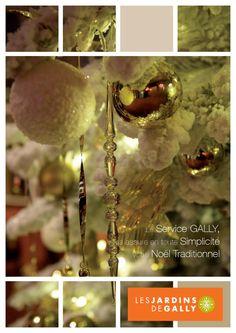 Catalogue des décorations de Noël 2011  Découvrez le catalogue de Noël 2011 ! L'équipe des JARDINS DE GALLY réalisera le décor de Noël que vous souhaitez.