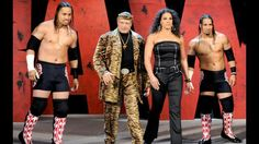 Jimmy Snuka and his family