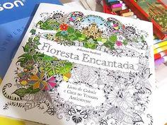 Livro Floresta Encantada. #florestaencantada #livros #books #enchantedflorest