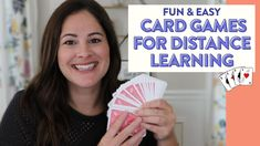 MATH GAMES FOR DISTANCE LEARNING | Math Games with a Deck of Cards - YouTube Math Games, Deck Of Cards, First Grade, Distance, The Creator, Learning, Youtube, Fun, Studying
