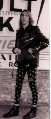 A young Marilyn Manson