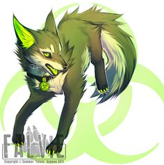 Toxik female wolf no mate or pups power:Can put toxic waste any where best friends with Daredevil