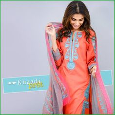 Are you a fan of longer silhouettes? If yes, then this Khaadi pret collection is just what you're looking for! Have a look inside
