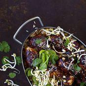 Uunibroileri ja korealainen riisi   Kana, Juhli ja nauti   Soppa365