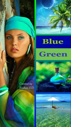 '' Blue & Green '' by Reyhan Seran Dursun
