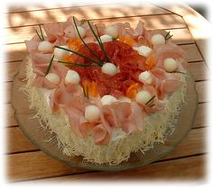 Sandwiches, Sandwich Cake, Hors D'oeuvres, Savoury Cake, Food Design, Starters, Finger Foods, Confetti, Entrees