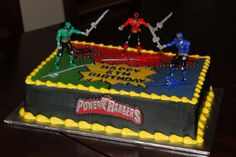 Power Rangers Birthday Cake Photos