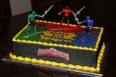 Power Rangers Birthday Cake Photos More