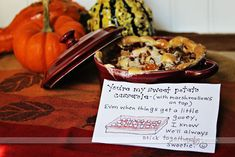 Printable Thanksgiving Love Notes