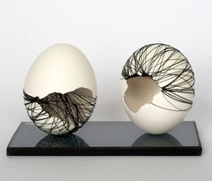 Anne Gates / Double eggblack / Motivation series /  2011-12