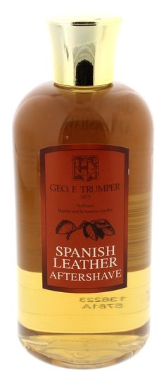 Geo F Trumper Spanish Leather Aftershave 200ml Travel