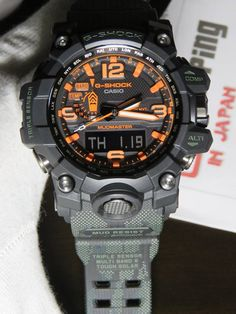 G-Shock Mudmaster x Limited Maharishi G Shock Watches Mens, Best Watches For Men, Luxury Watches For Men, Cool Watches, Popular Watches, Brm Watches, Sport Watches, G Shock Limited, G Shock Mudmaster