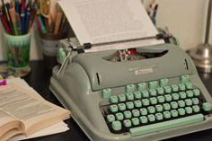 1950's Hermes 3000 cursive typewriter