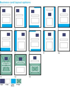 Business card layouts laying out identity id materials vertical business card design layout options colourmoves