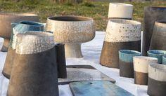 "Cunzata Collection: handmade ceramic products for ""D-hand_design a mano"". Design Clara Giardina photo Livia Sperandio Photographer"
