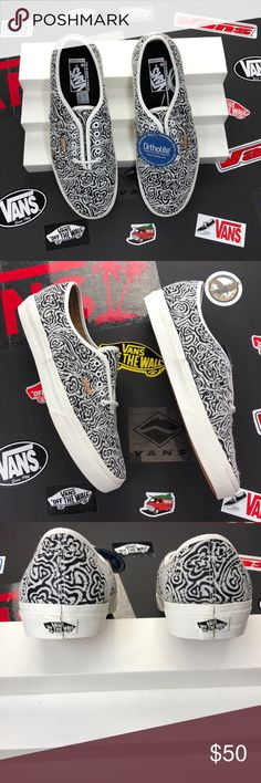 Vans Authentic Ca The Authentic, Vans original and now iconic style, is a simple low top, lace-up with durable canvas upper, metal eyelets, Vans flag label and Vans original Waffle Outsole. Vans Shoes Sneakers
