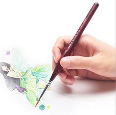 nail Art Drawing lines Paint nail Brush art painting brush nail art pen  Claborate-style painting animation AHB001