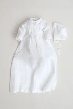 /ÓLI PRIK COPENHAGEN Baby M/ädchen und Junge Taufkleid mit M/ütze Napoli Taufkleid cd301 Taufkleidung