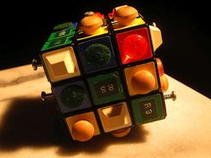 Doom Cube - A Rubik's Cube for People with Visual Impairments #toys #vision