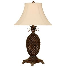 every good colonial home needs a pineapple lamp