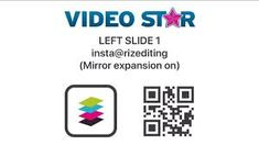 Video Star QR codes I use - Transitions Video Fx, Do Video, Story Video, Zodiac Sign List, Free Qr Code, Video Editing Apps, Qr Codes, Things That Bounce, Stars