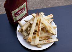 Baked freezer fries