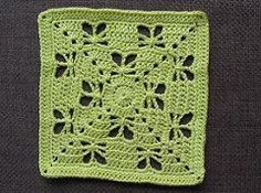 Crochet Stitches To Inches : + images about Crochet Granny squares on Pinterest Square patterns ...