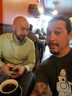Me and Pete Licata