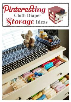 Pinteresting Cloth Diaper Storage Ideas