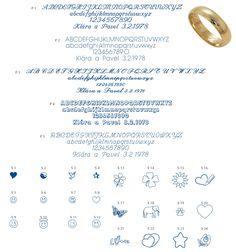 Výsledek obrázku pro rytiny do snubních prstenů
