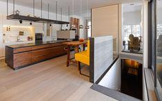 Wohnung D.   Mayr & Glatzl Innenarchitektur GmbH #innenarchitektur #küche #design #details Divider, Loft, Bed, Furniture, Design, Home Decor, Interior Design Kitchen, Floor Layout, Lofts
